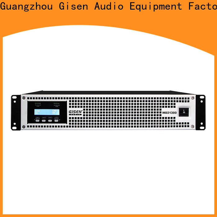 Gisen competitive price high end amplifiers sale price for ktv