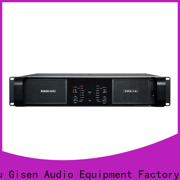 unrivalled quality music amplifier 4x1300w one-stop service supplier for various occations