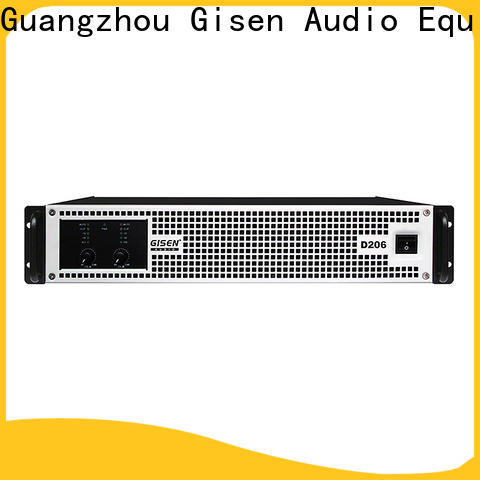 Gisen high efficiency class d audio amplifier fast delivery for performance
