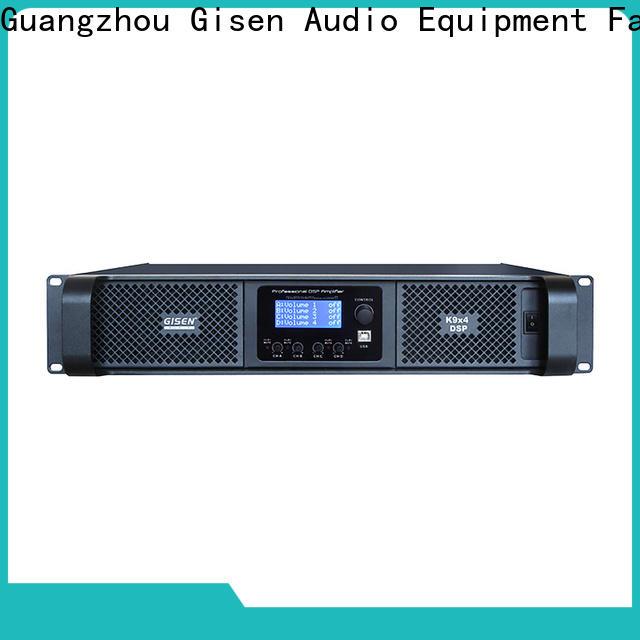 Gisen professional desktop audio amplifier manufacturer for venue