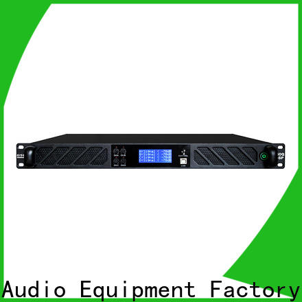 Gisen touch screen multi channel amplifier manufacturer for stage