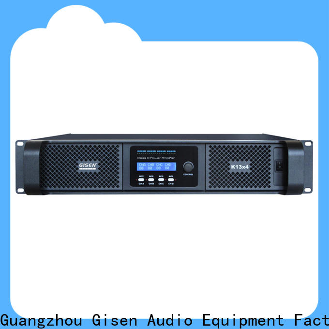 Gisen high efficiency dj amplifier fast delivery for meeting
