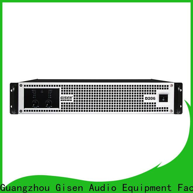 Gisen guangzhou class d stereo amplifier fast shipping for ktv