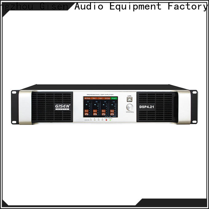 Gisen 2100wx4 amplifier power supplier for various occations