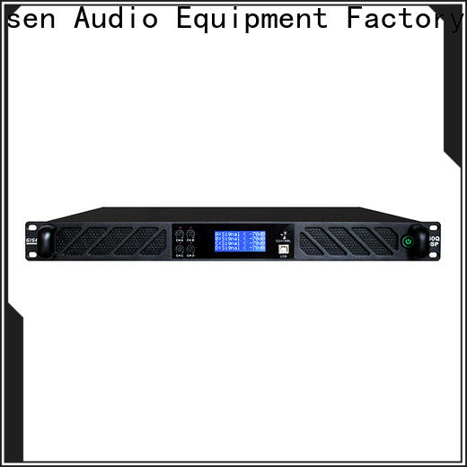 Gisen high quality dsp power amplifier factory for stage