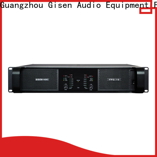 Gisen power professional amplifier get quotes for night club