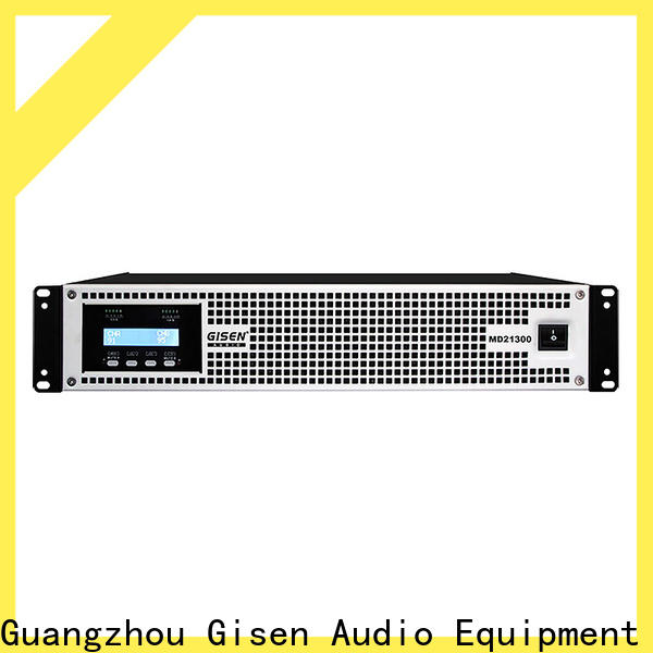 Gisen strict inspection best surround sound amp overseas market for meeting