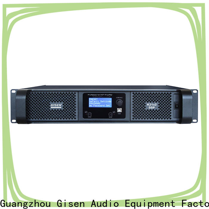 high quality amplifier sound system 2100wx2 manufacturer for performance