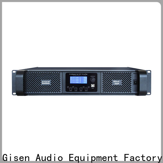 Gisen power dsp amplifier wholesale for stage