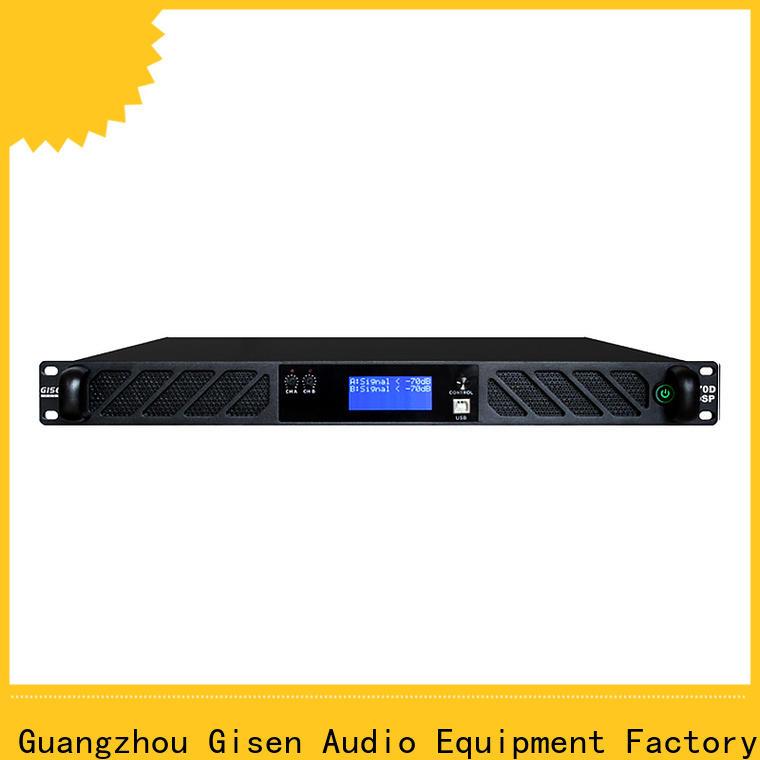 professional dsp power amplifier 2100wx4 supplier