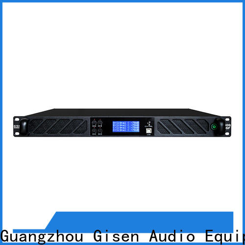 professional 1u amplifier touch screen supplier for venue