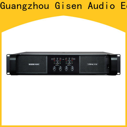 Gisen quality assurance amplifier for home speakers one-stop service supplier for various occations