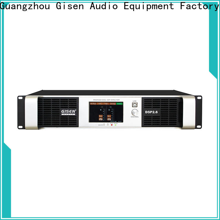 Gisen 8ohm amplifier sound system supplier