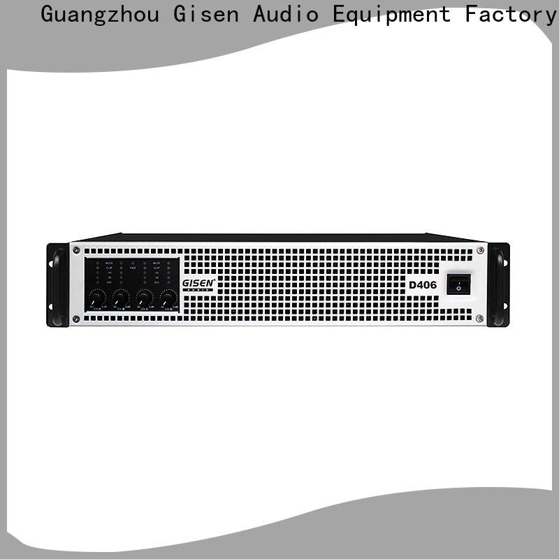 Gisen 8ohm class d digital amplifier supplier for entertaining club