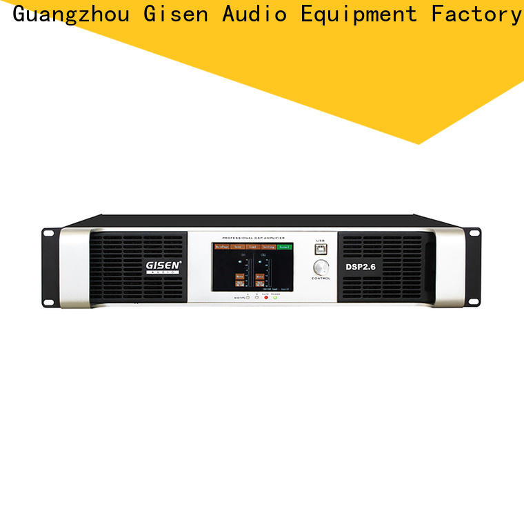 professional best power amplifier in the world touch screen wholesale for stage