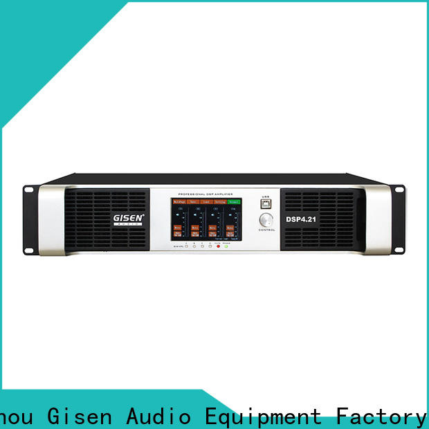 Gisen power best power amplifier in the world supplier for stage