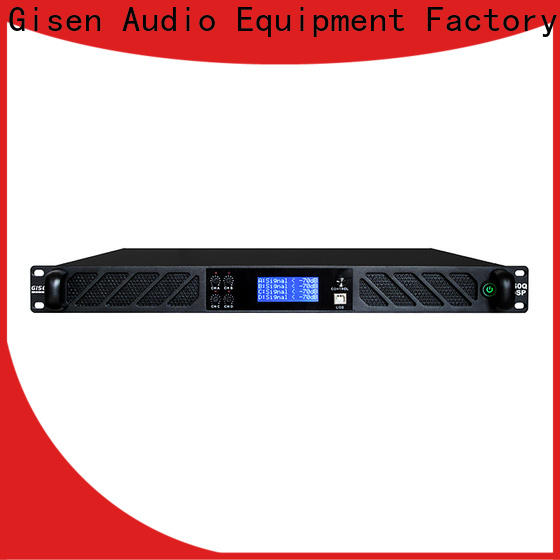 professional dsp power amplifier 4 channel wholesale
