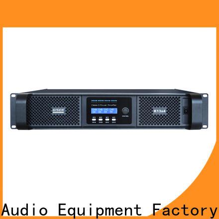 Gisen professional sound digital amplifier manufacturer for entertaining club