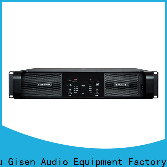 Gisen unreserved service hifi amplifier one-stop service supplier for various occations
