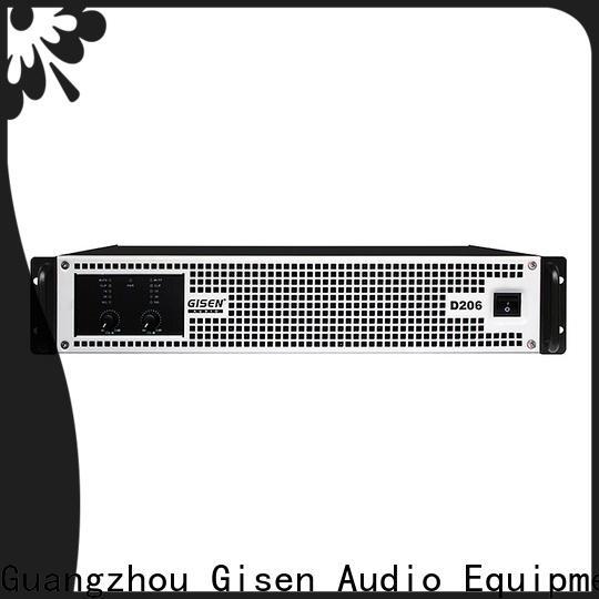 Gisen professional class d power amplifier supplier for entertaining club