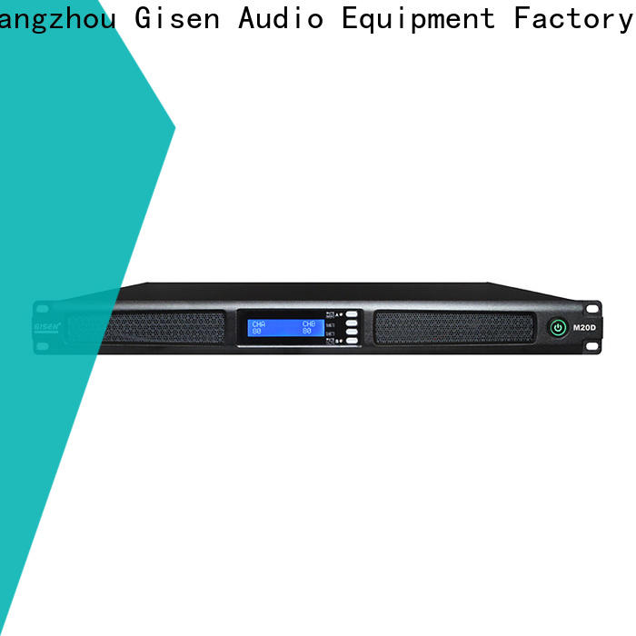 new model audio power amplifier power wholesale for entertainment club