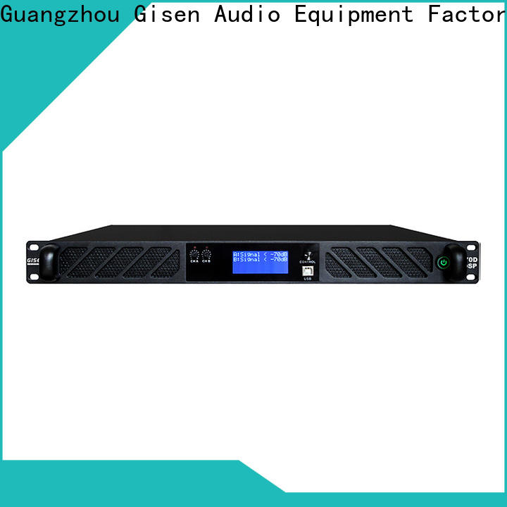 Gisen 1u multi channel amplifier manufacturer for various occations