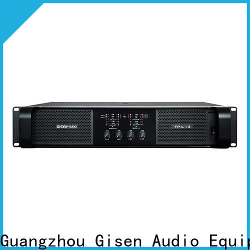 Gisen 4x1300w compact stereo amplifier source now for performance