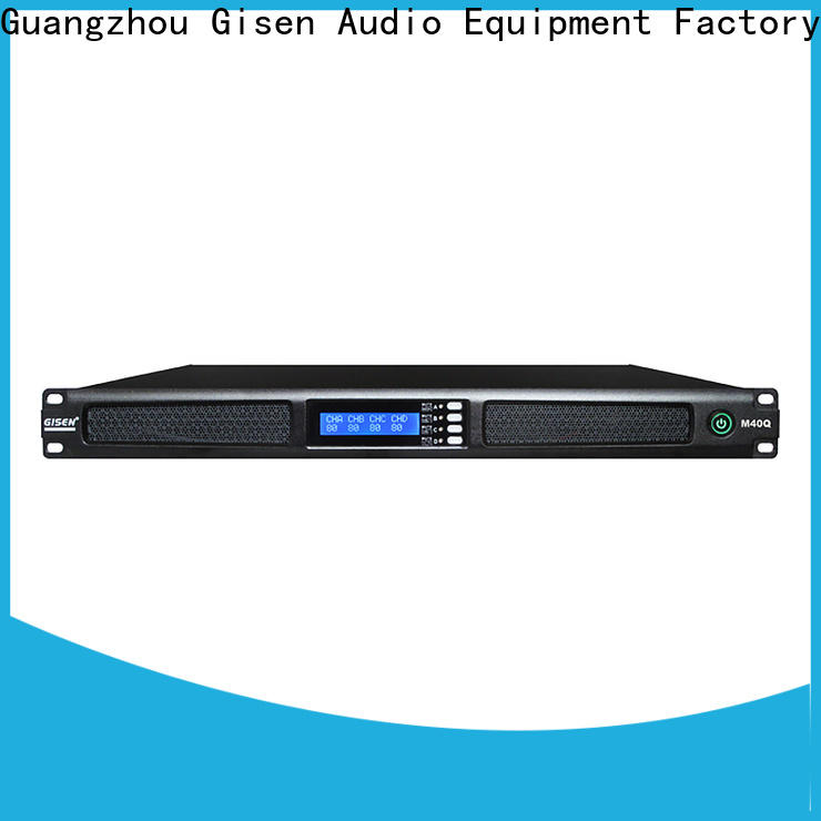 new model 2 channel power amplifier class supplier for entertainment club