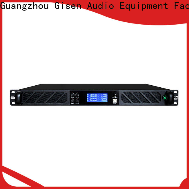 Gisen 2100wx2 amplifier sound system manufacturer