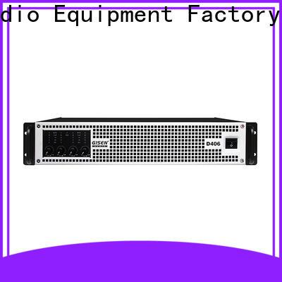 Gisen high efficiency digital audio amplifier manufacturer for performance