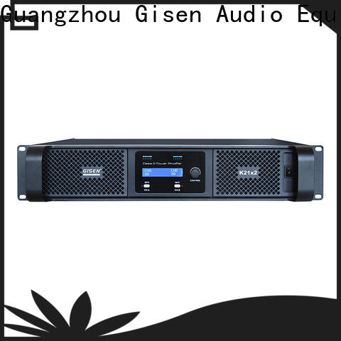 Gisen guangzhou class d power amplifier fast delivery for stadium