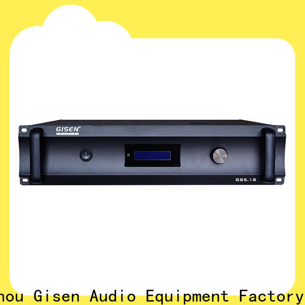 Gisen home home theater amplifier exporter for private club
