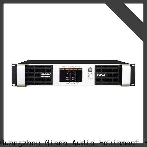 Gisen german dsp power amplifier supplier for stage
