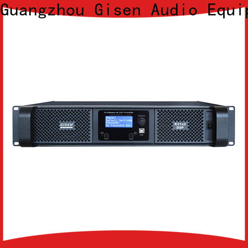 Gisen multiple functions 1u amplifier factory for performance
