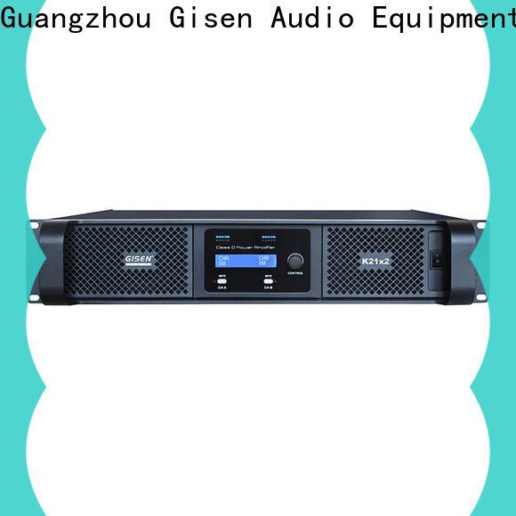 Gisen high efficiency hifi class d amplifier manufacturer for ktv