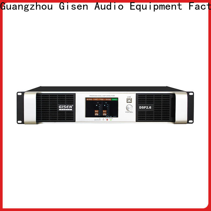 Gisen high quality multi channel amplifier wholesale