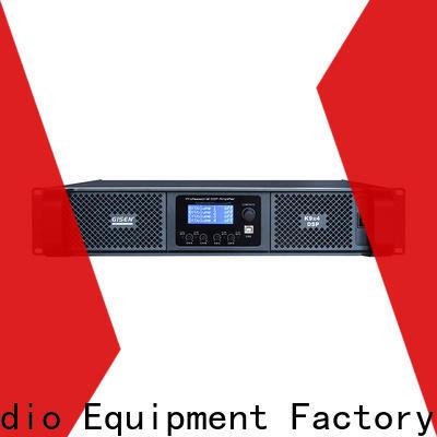 Gisen 4 channel direct digital amplifier supplier