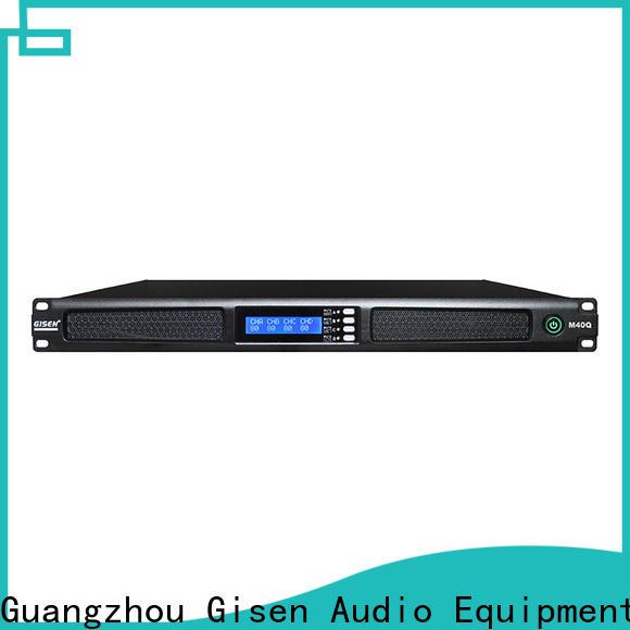 Gisen new model home amplifier supplier for performance