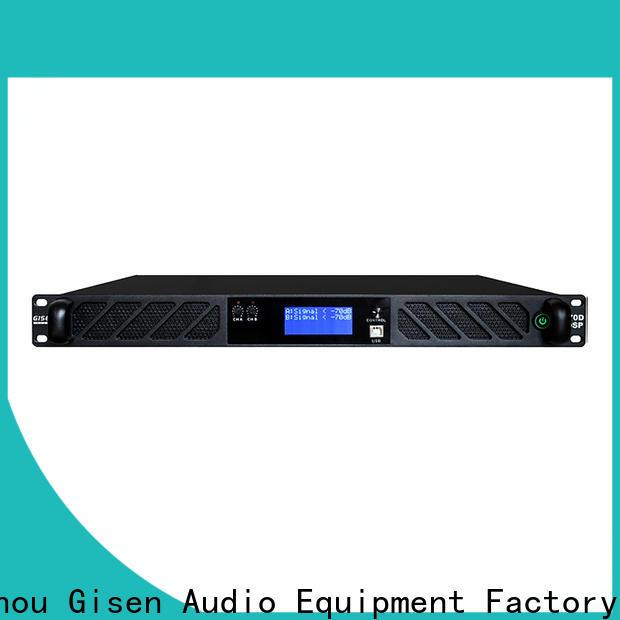 Gisen 4 channel amplifier power wholesale for venue
