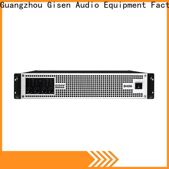 Gisen advanced class d audio amplifier supplier for ktv