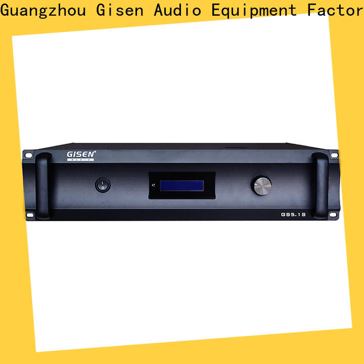 Gisen digital 2 channel home stereo amplifier wholesale for indoor place