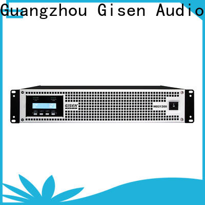 Gisen competitive price audio system amplifier overseas market for ktv