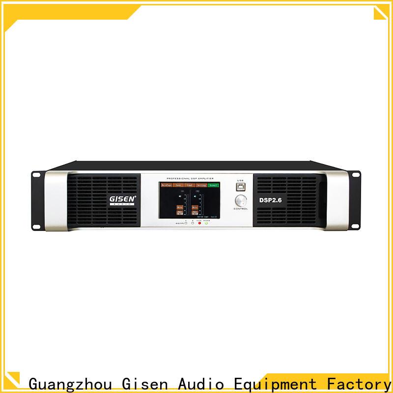 Gisen german amplifier power wholesale for venue