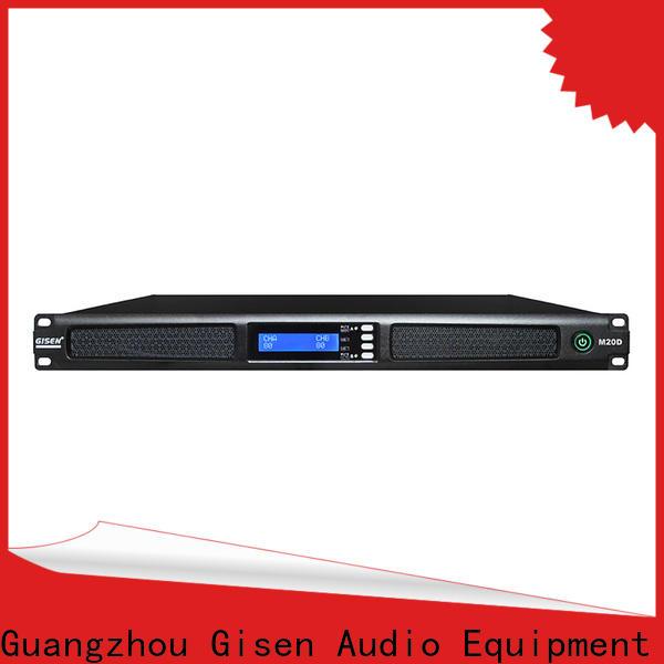 Gisen new model digital power amplifier wholesale for venue