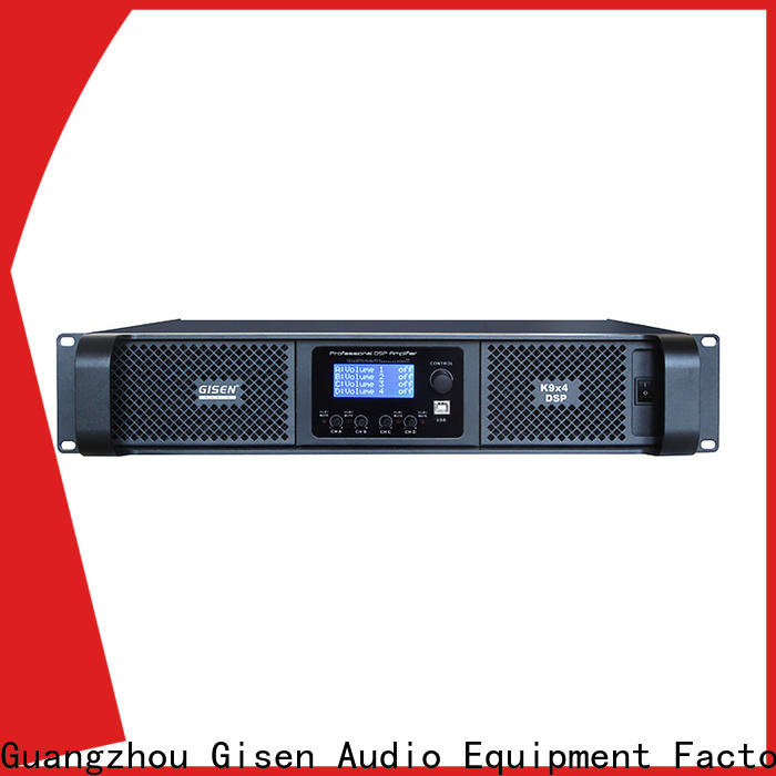 Gisen professional studio amplifier factory for performance