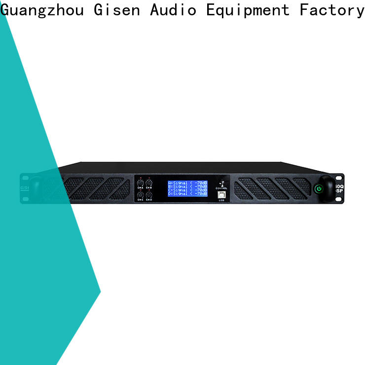 multiple functions multi channel amplifier touch screen factory for performance