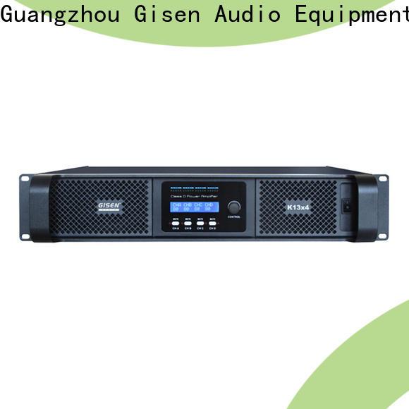 advanced class d audio amplifier 2100wx4 supplier for stadium