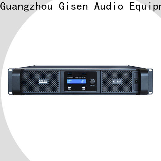 Gisen 8ohm top 10 power amplifiers wholesale for entertaining club