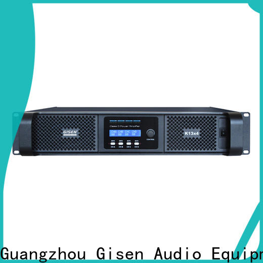 Gisen guangzhou home stereo power amplifier manufacturer for meeting