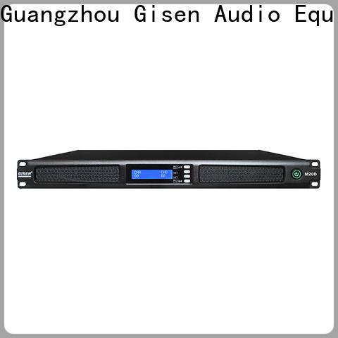 Gisen new model power amplifier manufacturer for performance